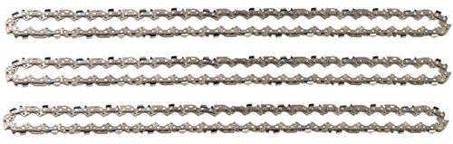 3 tallox Sägeketten 3/8' 1,3 mm 57 TG 40 cm Schwert kompatibel mit DOLMAR, ECHO, EINHELL, HITACHI und andere