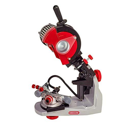Oregon Professional 230 Volt Sägeketten-Schleifmaschine mit Hydraulischer Kettenklemmung, Universeller...