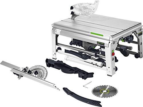 Festool Tischzugsäge CS 70 EG PRECISIO Herstellernr. 574778, Schwarz/Grün
