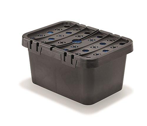 Filterbox inkl. Filterschwämme für Solar Teichpumpen Teichfilter Gartenteich Pumpe esotec 101716