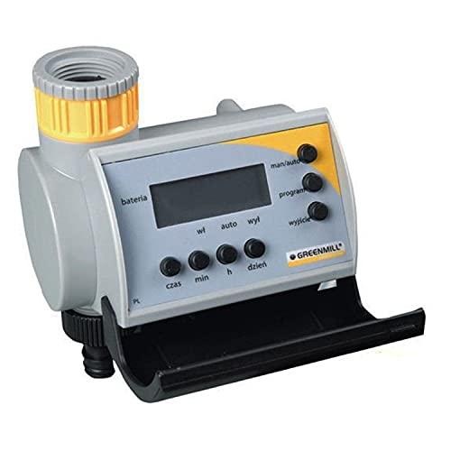 Greenmill GB6980C Bewässerungscomputer Bewässerungsregler Zeitschaltuhr Bewässerungsuhr Bewässerungssteuerung 9V DC 3/4' und 1'