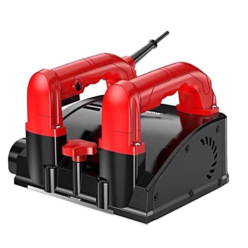 Futchoy Professional Betonschleifer, Elektr-Winkelschleifer (1.680W, 3.000 U/min, Fräsbreite: 160mm, Höhenverstellung: 1-4 mm)