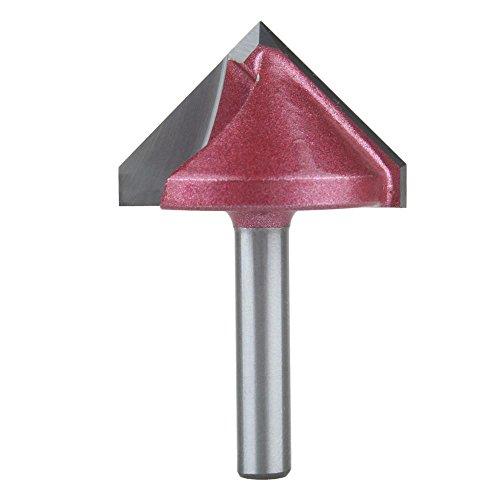 EU_HOZLY 32mmx90 Grad (CEDxDegree) 6mm 3D V Formfräsen Holzschneider Messer, CNC Fräser Bit Graviermaschine...
