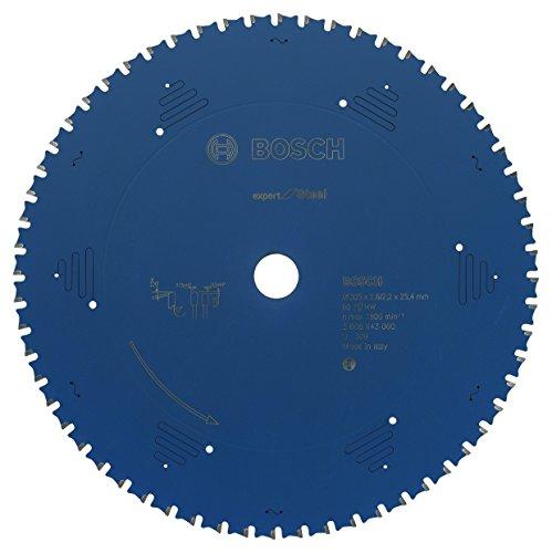 Bosch Professional Kreissägeblatt (für Stahl, AußenØ: 305mm, Bohrung: 25,4mm, Zubehör für Metall-,...