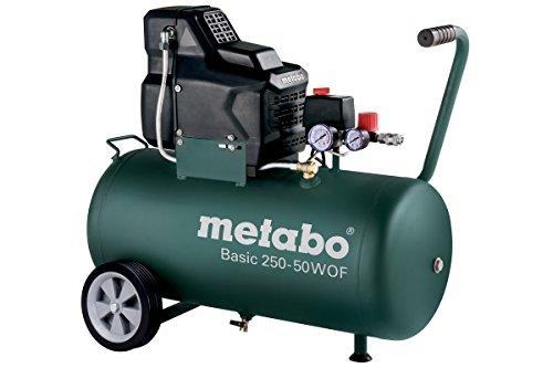 Metabo Kompressor Basic Basic 250-50 W OF (601535000) Karton, Ansaugleistung: 220 l/min, Füllleistung: 120...