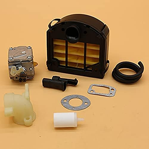 LODCC Luftfilter Vergaser Ansaugstutzen Kraftstofffilter Schlauch Dichtung Assy Ersatzteile für Husqvarna 268 272 XP Benzin Kettensäge Reparaturteile Zubehör einfach