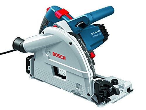 Bosch Professional Tauchsäge GKT 55 GCE, Kreissägeblatt Best for Wood, 1400 Watt-Motor, 165 mm Sägeblattdurchesser, 1 Stück, 0601675000