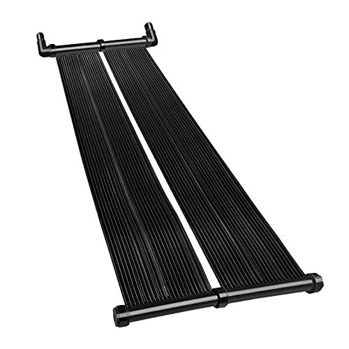 Froadp Solarkollektor Poolheizung 400 x 70 cm, Solarabsorber Solarmatte mit Schlauchanschluss Ø 32/38 mm, Heizung Warmwasser für Pools bis 20000 L Wasserinhalt