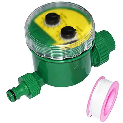 SZTUCCE Bewässerung Garten Timer Wasser Automatik Timer Bewässerung-Magnetventil Bewässerungssteuerung Automatischer Start Gartenbewässerung (Color : Green)
