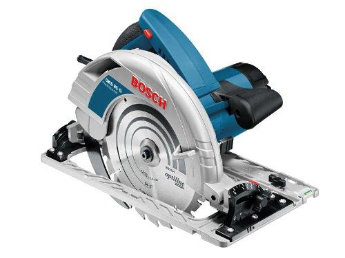 Bosch Professional GKS 85 G Professional Handkreissäge in L-BOXX mit Führungsschiene FSN 1600 und...