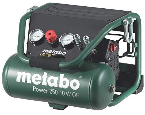 Metabo Kompressor Power Power 250-10 W OF (601544000) Karton, Ansaugleistung: 220 l/min, Füllleistung: 120...