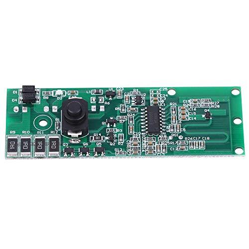 Jarchii Controller-Modul, Solarlampen-Controller-Modul Leiterplatte Mikrowellenradarinduktion mit Schalter 3,2 V/3,7 V.