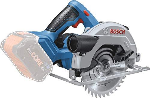 Bosch Professional 18V System Akku Kreissäge GKS 18V-57 (Sägeblatt-Ø: 165 mm, Schnitttiefe: 57 mm, ohne Akkus und Ladegerät, im Karton)