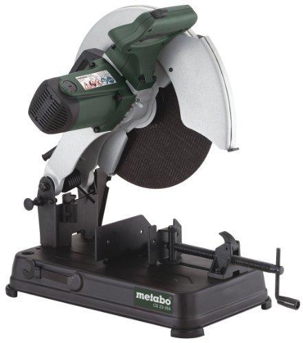 Metabo Metalltrennschleifer CS 23-355 Set (602335850) Karton; mit Trennscheibe Flexiamant Super, Für...