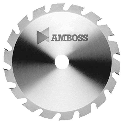 Amboss - HM Kreissägeblatt - NAGELFEST - Ø 315 mm x 3,2 mm x 30 mm   für extremen Einsatz auf Baustellen   Flachzahn mit Fase (20 Zähne)   Kombinebenlöcher