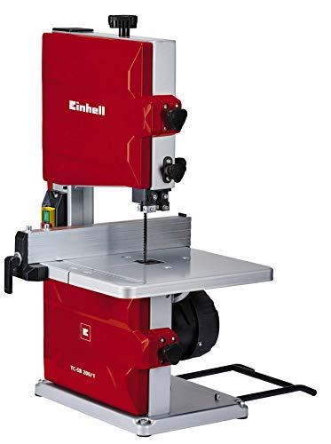 Einhell Bandsäge TC-SB 200/1 (250 W, max. Schnitthöhe 80 mm, Durchmesser Absauganschluss 36 mm,...