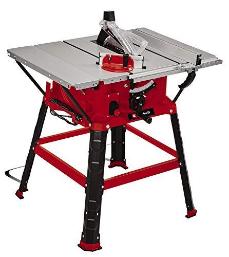 Einhell Tischkreissäge TC-TS 254 U (max. 2200 W, Ø254 x ø30 mm Sägeblatt, Parallel-/Winkel- bzw. Queranschlag, Auflagenvergrößerung, neigbares Sägeblatt, Staubabsauganschluss)