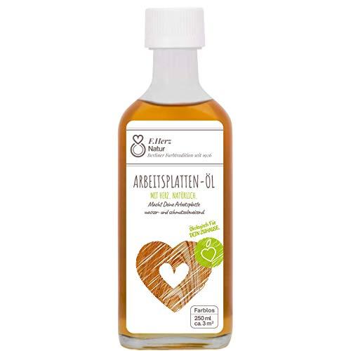 Küchenarbeitsplatten aus Holz brauchen dieses Pflegeöl   Arbeitsplattenöl farblos   natürliche...