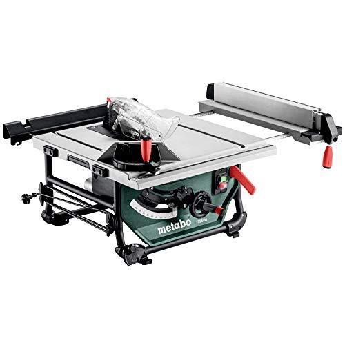 Metabo Tischkreissäge TS 254 M (610254000) Karton, Abmessungen: 669 x 748 x 334 mm, Arbeitshöhe: 334 mm, Schnitthöhe: 0 - 80 mm, Schwarz