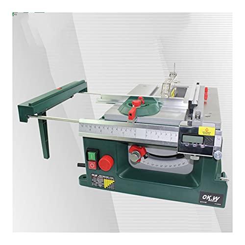 TAIJU Haushalt Mini Tischkreissäge, DIY Push-Tischkreissäge Multifunktionale Holzverarbeitung Kettensäge, Kleine Schneidemaschine Modell Säge 200W 230V / 50Hz