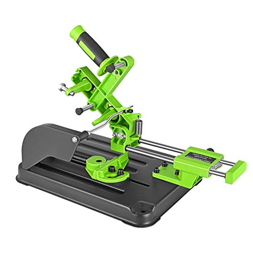 Multifunktionaler Universal Desktop Winkelschleiferständer, Vogvigo Schneidemaschine Tischkreissäge Zugstange Winkelschleifmaschine Halterung für 100、115 und 125 Winkelschleifer