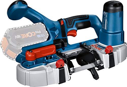 Bosch Professional 18V System Akku Bandsäge GCB 18V-63 (inkl. 1x Bandsägeblatt, ohne Akkus und Ladegerät,...