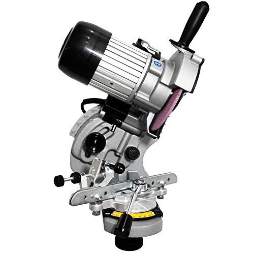 Yerd hochwertiges Kettenschärf-Gerät / Profi Schärfgerät EVO, Kettenschärfer mit umfangreichen Einstellungsmöglichkeiten