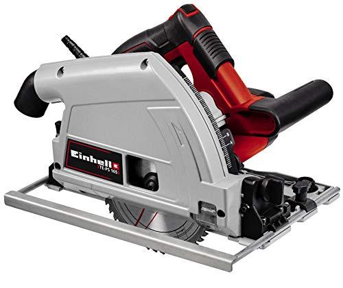 Einhell Tauchsäge TE-PS 165 (1.200 Watt, werkzeuglose Einstellung bei Schnitttiefe + Neigungswinkel,...