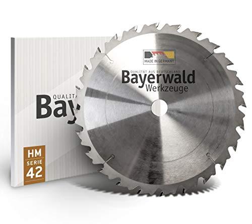 Bayerwald - HM Kreissägeblatt - Ø 250 mm x 3,2 mm x 20 mm | Wechselzahn (24 Zähne) | grobe, schnelle...
