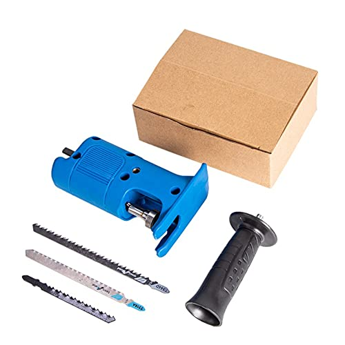 Ashley GAO Elektrische Bohrmaschine modifizierte elektrische Säge Elektrische Säbelsäge Säbelsäge Bohrmaschine zu Stichsäge Holzbearbeitungswerkzeug