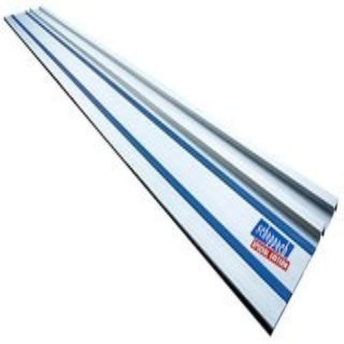 Scheppach Führungsschiene 1400 mm für Tauchsäge 55 / 75 (für präzise und ausrissfreie Schnitte, gerade Schnitte, Halt am Werkstück, leichtgängig)