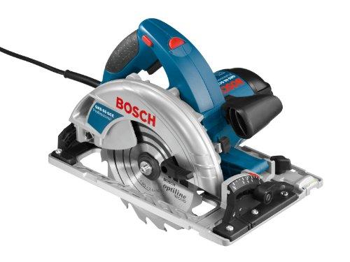 Bosch Professional Handkreissäge GKS 65 GCE (inkl. Führungsschiene FSN 1600, HM-Sägeblatt 190 mm,...