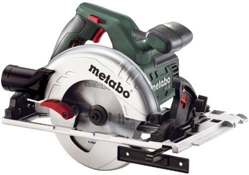 Metabo Handkreissäge KS 55 FS (600955000) Karton, Nennaufnahmeleistung: 1200 W, Abgabeleistung: 670 W, Max....