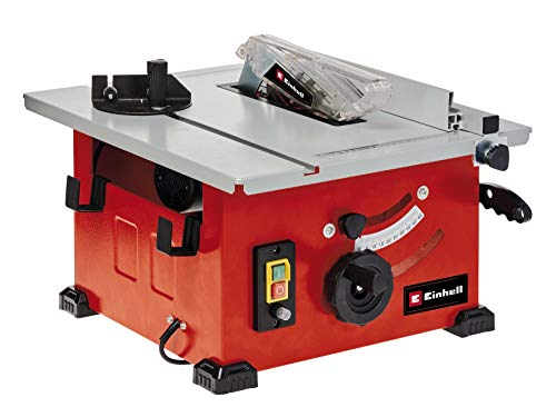 Einhell Tischkreissäge TC-TS 210 (max. 1200 W, Ø 210 x 30 Sägeblatt, Überlastschalter, Parallelanschlag m....