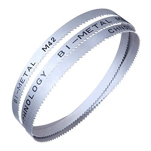 Wnuanjun 1pc Sägeband 34 * 1.1 * 4115mm Bimetall-Sägeband for Span (Farbe : 34mm, Größe : 4115x1.1mm)