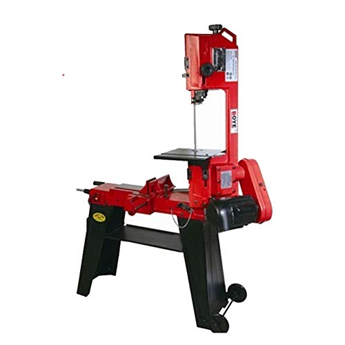 COUYY Tragbare Tischsäge, Vertikale Metallbandsäge, Elektrische Holzschneidemaschine, Hubkolbensäge