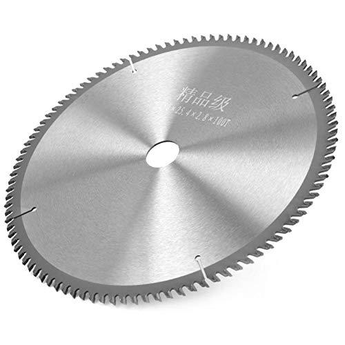KUIDAMOS Endbearbeitungssägeblatt 250 x 25 für Tischkreissägeblatt-Schleifspitzen Zähne Kompaktes Kreissägeblatt
