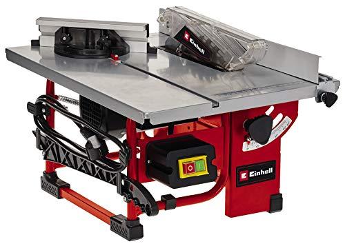 Einhell Tischkreissäge TC-TS 200 (max. 800 W, Ø200x16 mm Sägeblatt, wartungsarm und mobil, inkl. 45°...