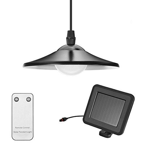 Solarlampen für Außen, Tomshine Solar Hängeleuchte mit Fernbedienung, Tragbare Solarleuchte, 2 Modi Solar...