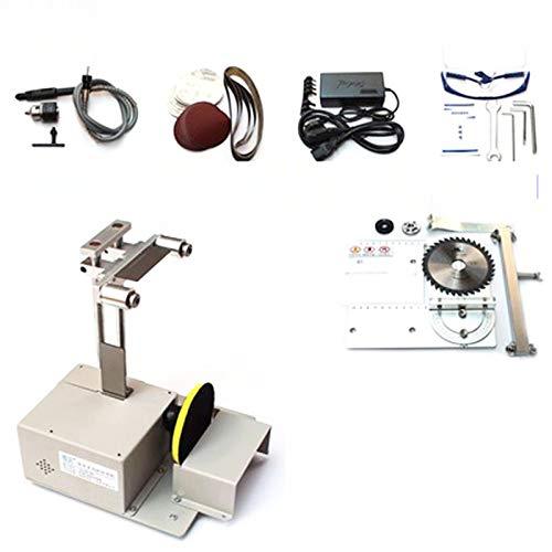 Wenhu Tischkreissäge Micro Kettensäge Multifunktions-Mini-Schneidemaschine DIY Holzbearbeitung Sägen Präzisions-Desktop-Cutter Zimmerei Säge