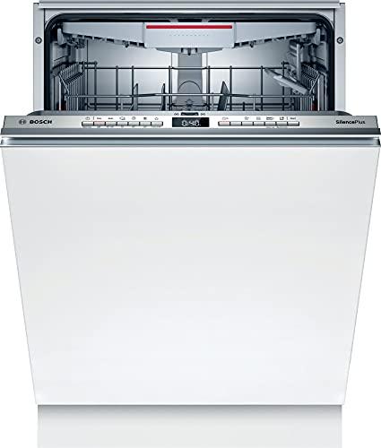 Bosch SHH4HCX48E Serie 4 XXL-Geschirrspüler Vollintegriert, 60 cm breit, bis 92,5 cm extra hoch, Besteckschublade, Silence Programm besonders leise, Extra Trocknen auf Knopfdruck