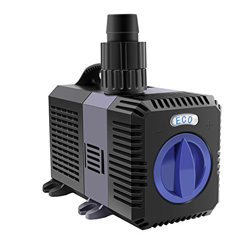 everfarel Eco Teichpumpe Pumpe Bachlaufpumpe 20W CTP (3600l/h) Wasserpumpe