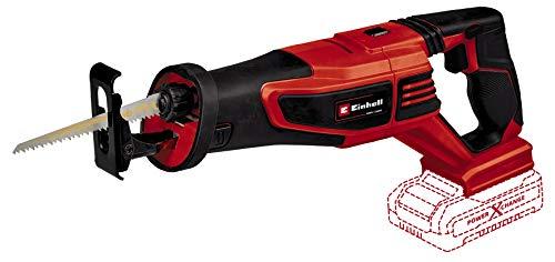 Einhell Akku-Universalsäge TE-AP 18/28 Li BL - Solo Power X-Change (Li-Ion, 18 V, 28 mm Hubhöhe, bürstenloser Motor, drehbarer Hauptgriff, Anti-Vibrations-Funktion, ohne Akku und Ladegerät)