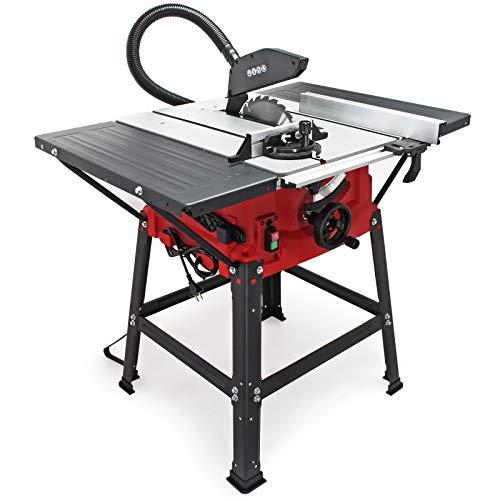 Tischkreissäge 2000W 0-45° schwenkbar verstellbarer Parallelanschlag 5500 U/min