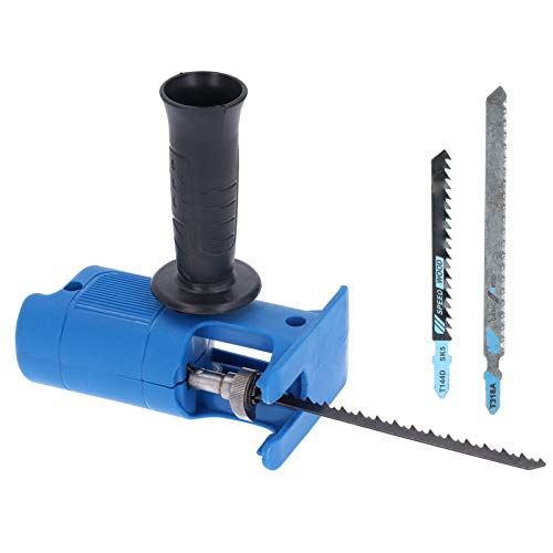 Fafeicy Säbelsäge, tragbares Säbelsägenadapter-Set für das Schneiden von Holz, PVC und Metall