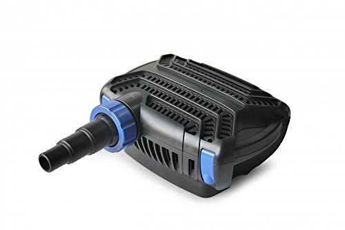 AquaOne Eco Teichpumpe CTF-B 14000 120 Watt 14000l /h I Hochwertige Teichpumpe mit Filter I Spezielle Pumpe für den Gartenteich I Filterpumpe Teich I Teich Pumpe