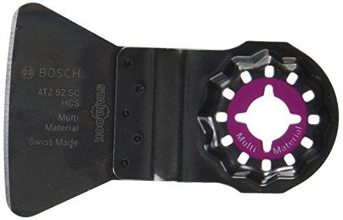 Bosch Professional Schaber starr, 10 Stück (Mörtel, Fliesenkleber, Betonreste, für Multifunktionswerkzeuge...