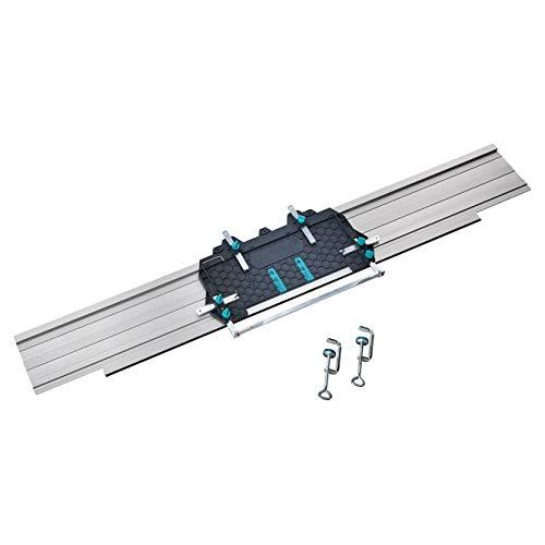 wolfcraft I FKS 145 - Führungsschiene für Handkreissägen I 6913000 I für Schnitte bis 110 cm I...