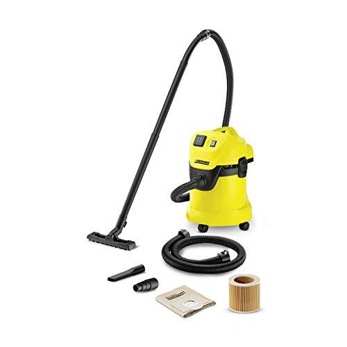 Kärcher Mehrzwecksauger WD 3 P Extension Kit (Behältergröße: 17 l, Tatsächliche Saugleistung: 200 Air...