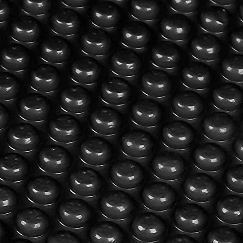 well2wellness® Solarfolie Plus schwarz fertig konfektioniert für Ovalbecken 7,30 x 3,70m